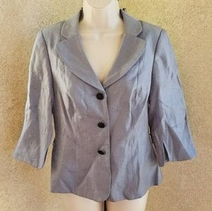 Adrianna Papell evening essentials blazer coat 8